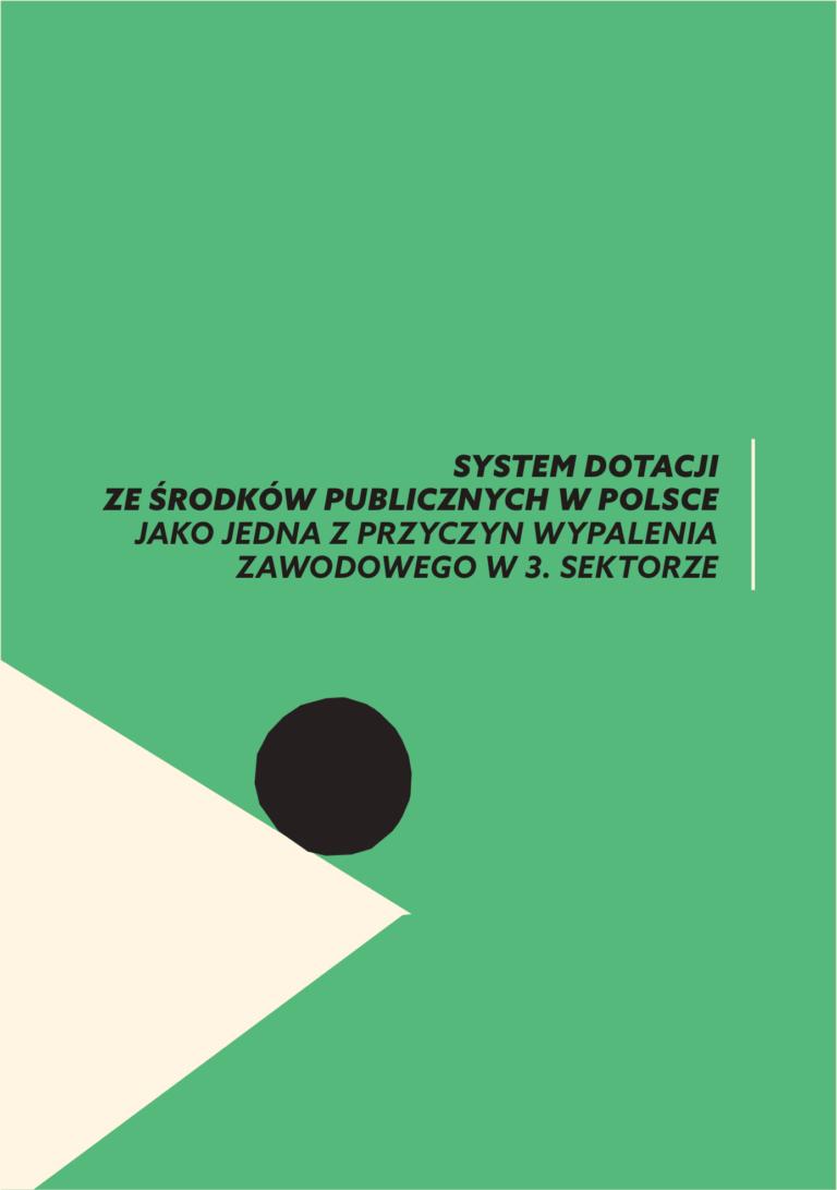 Rekomendacje dot. systemu dotacji ze środków publicznych w Polsce. – Zbieramy podpisy!